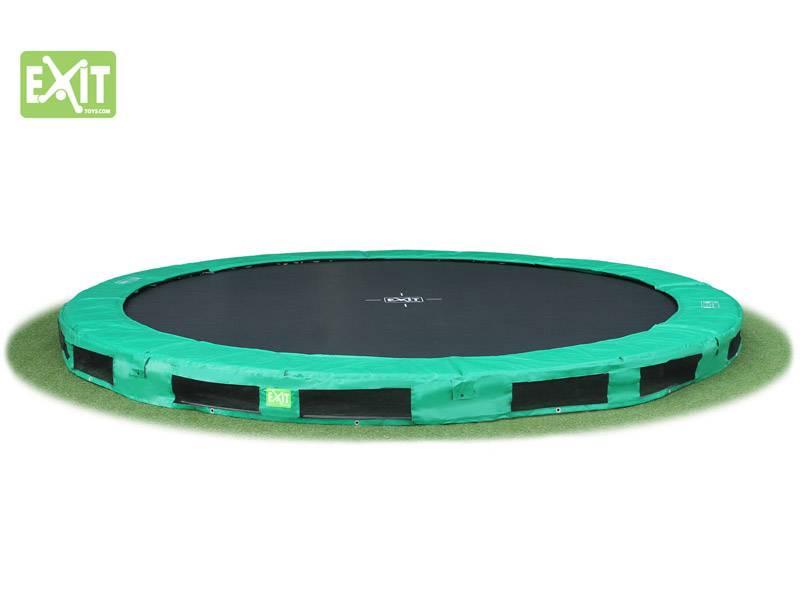 Exit Toys Trampoline Interra 427 (groen)