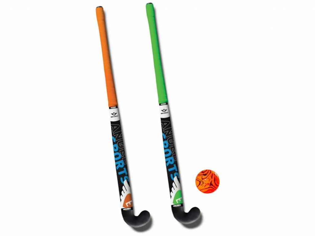 Angel Sports Kunststof Hockeystick Set (76 cm)