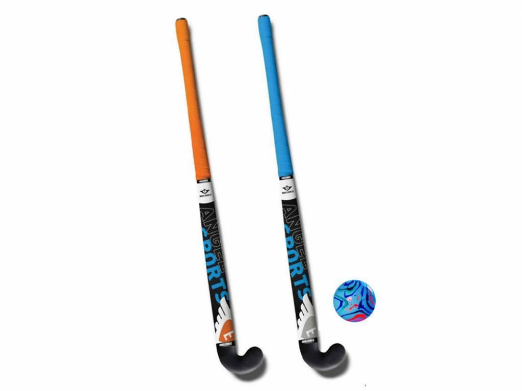 Angel Sports Kunststof Hockeystick Set (86 cm)