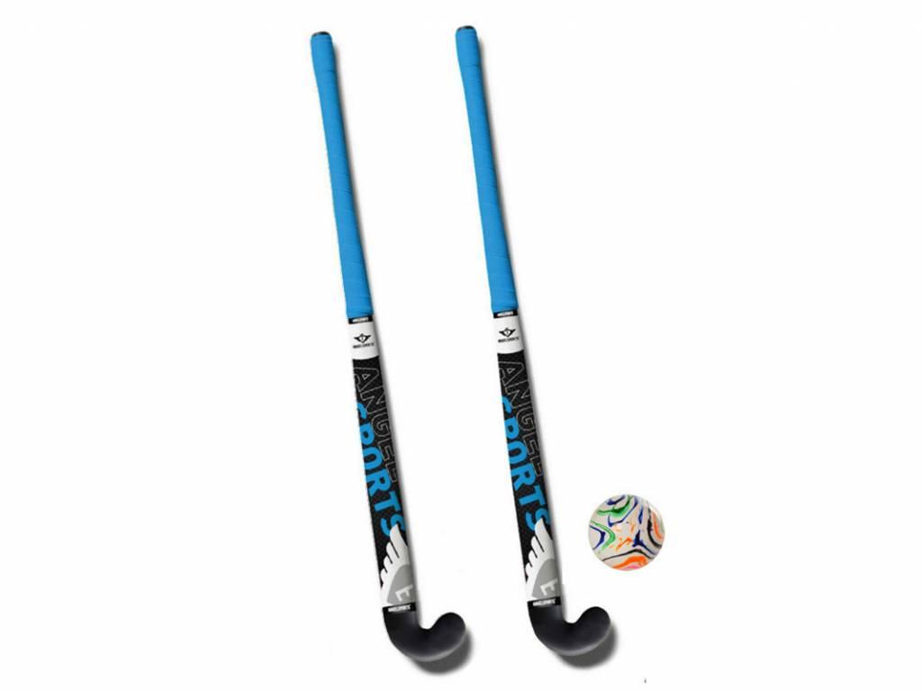 Angel Sports Kunststof Hockeystick Set (91 cm)