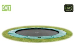 Exit Toys Trampoline Supreme Ground Level 305 cm