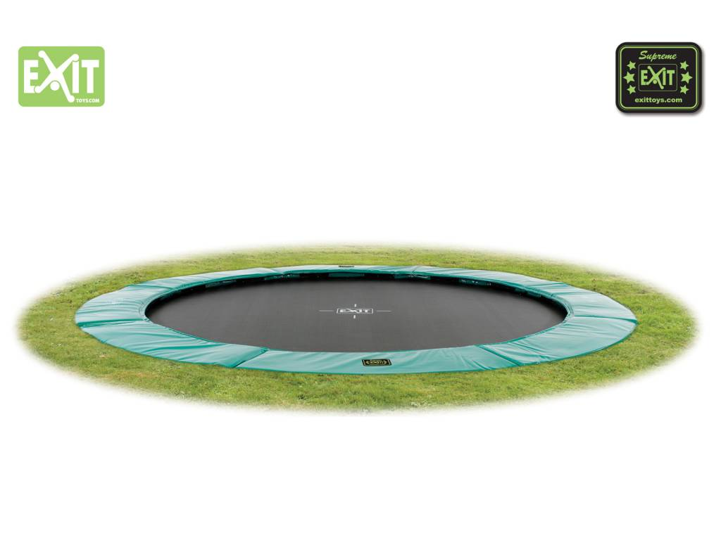 Exit Toys Trampoline Supreme Ground Level 366 cm