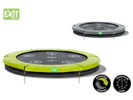 Exit Toys Trampoline Twist Inground 06 ft (groen/grijs)
