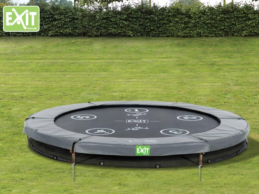 Exit Toys Trampoline Twist Inground 06 ft (groen/grijs)