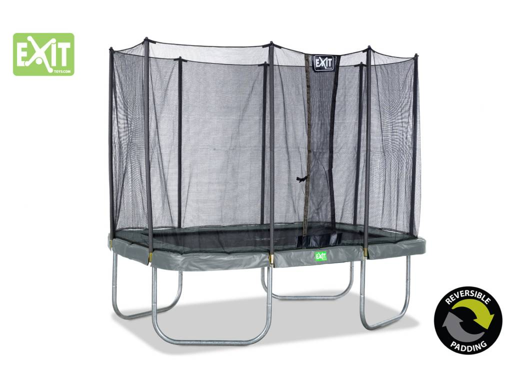 Exit Toys Trampoline Twist 214x305 (groen/grijs)