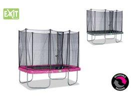 Exit Toys Trampoline Twist 214x305 (roze/grijs)