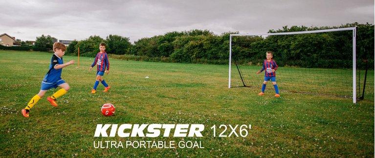 Opvouwbaar voetbaldoel Kickster (Quickplay)