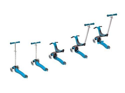 Globber Step My Free 5 in 1 (blauw) Globber