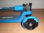 Move Step Tiny Turn blauw