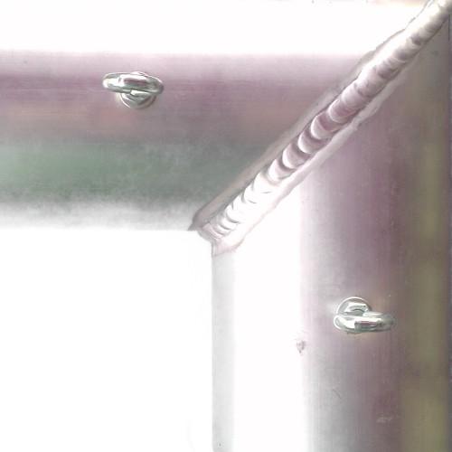 Aluminium Voetbaldoel 150x100 cm