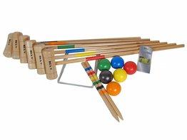 Bex Croquet Set 6 spelers (Rubberhout)