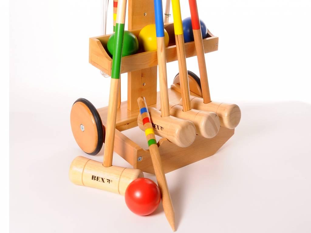Bex Croquet Set met trolley (4 spelers)