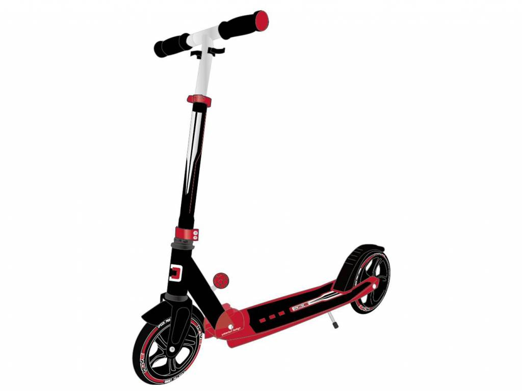Move Step (grote wielen) Black/Red