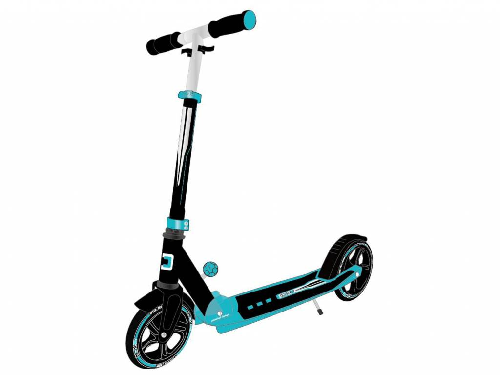 Move Step (grote wielen) Black/Blue
