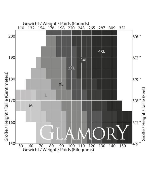 Glamory Halterlose Strümpfe - Deluxe 20 (zweifarbig)