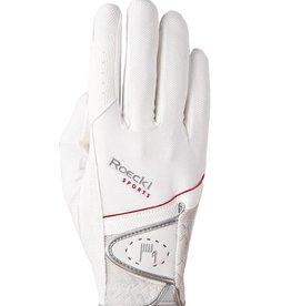Roeckl Handschuh Madrid weiß