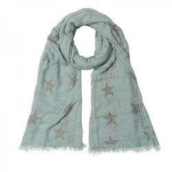 Blauwe sterren sjaal