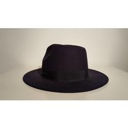 Zwarte dames hoed