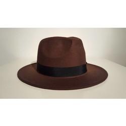 Bruine dames hoed