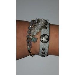 Peace armbanden set