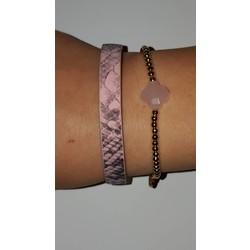 Roze armbanden set