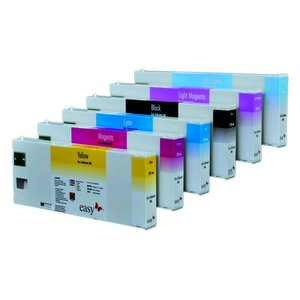 Eco solvent cartridge premiumum label voor Roland, Mutoh, Mimaki Agfa, Océ en Xerox.