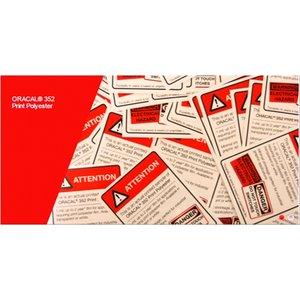 ORACAL® 352 Print Polyester Metallic of transparante polyester film
