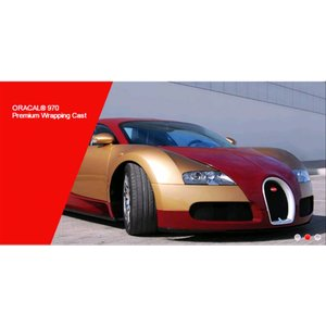 ORACAL® 970 Premium cast - Meerlaags gegoten PVC-film (110 micron) Car wrap