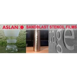 Zandstraal folie Aslan S64 PVC Transparant