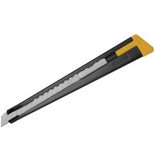 Olfa 180-Black Het Olfa mes uit Japan, 9mm snij-maatje met broekklem,