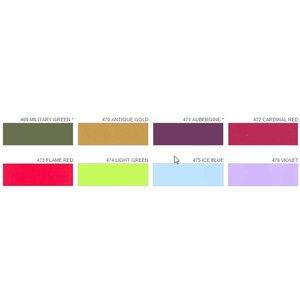 Poli-Flex Premium PE Film - Kleuren kaart
