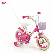 2Cycle Kinderfiets 12 inch met duwstang