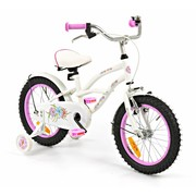 2Cycle Kinderfiets 16 inch Cruiser Wit