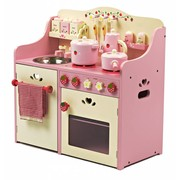 P&M Houten Speelkeuken Roze Strawberry