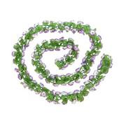2Cycle Bloemenstreng Paars (1015)