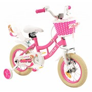 2Cycle Kinderfiets 12 inch Little met Poppenzitje