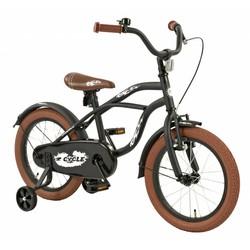 2Cycle Kinderfiets 16 inch Cruiser Zwart-bruin