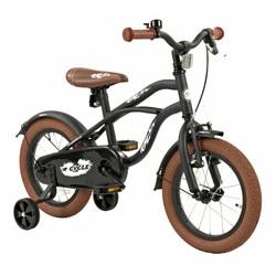2Cycle Kinderfiets 14 inch Cruiser Mat-Zwart