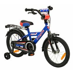 2Cycle Jongensfiets 16 inch Blauw-Rood