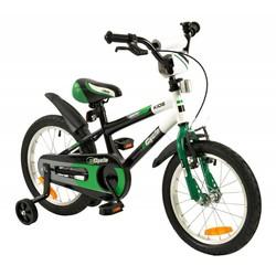 2Cycle Jongensfiets 16 inch Groen-Zwart