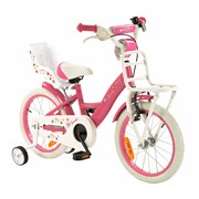 2Cycle Meisjesfiets 16 inch Magic met Poppenzitje