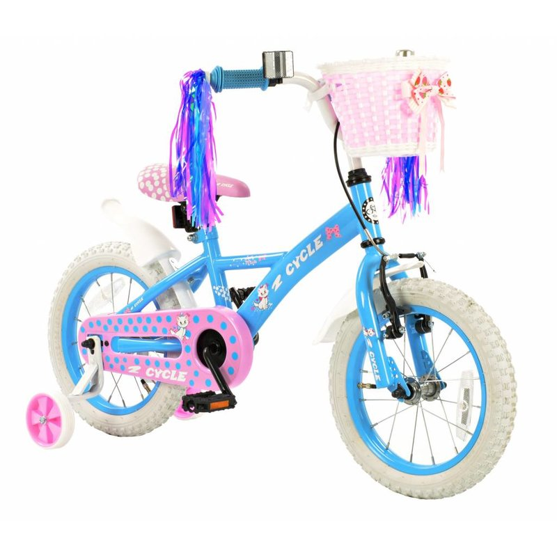 2Cycle Meisjesfiets 14 inch Kitten (1463)