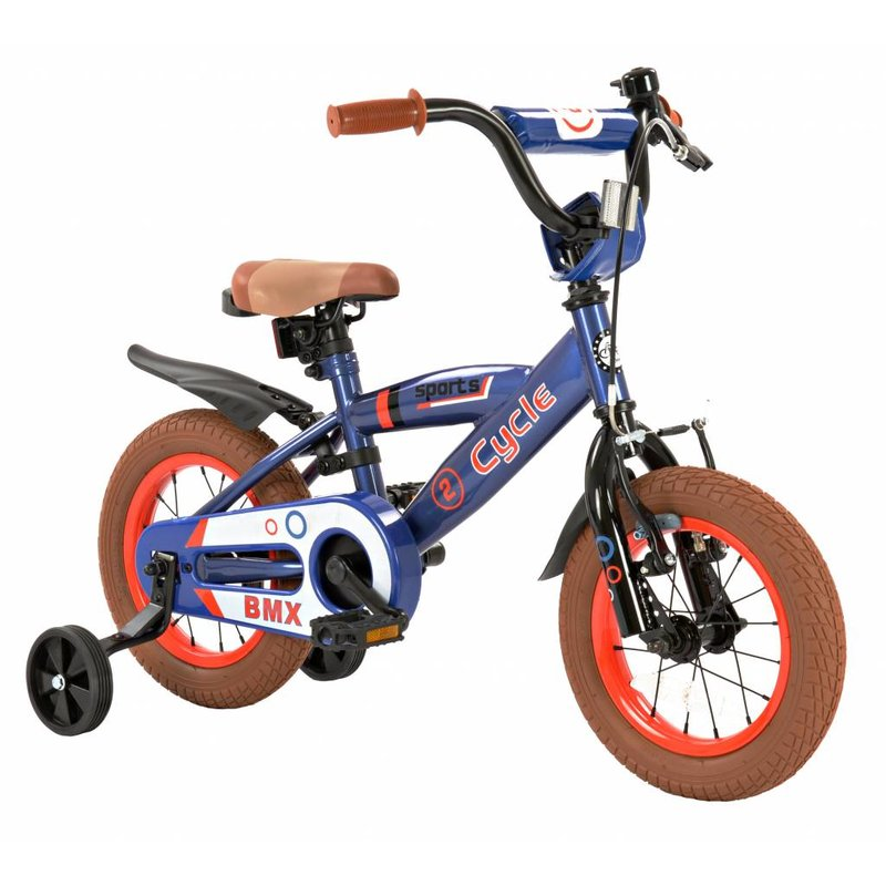 2Cycle Jongensfiets 12 inch 2Cycle Sports (1224)
