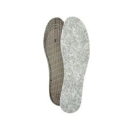 Living Feet Thermosohle- warme Einlegesohle aus Filz im Doppelpack