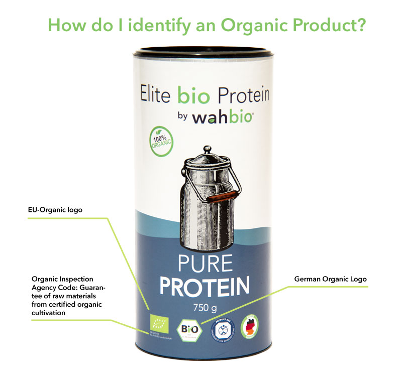 how do i identify an organic product