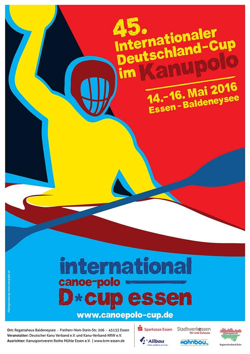 Wahbio at the International German-Canoe Polo Cup