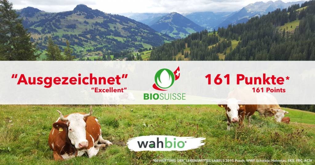 Did you know that the Milk protein in our Elite Organic Protein mix is also Knospe Bio Suisse certified?