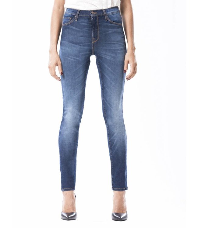 COJ Sophia Dark Vintage Blue Skinny Jeans