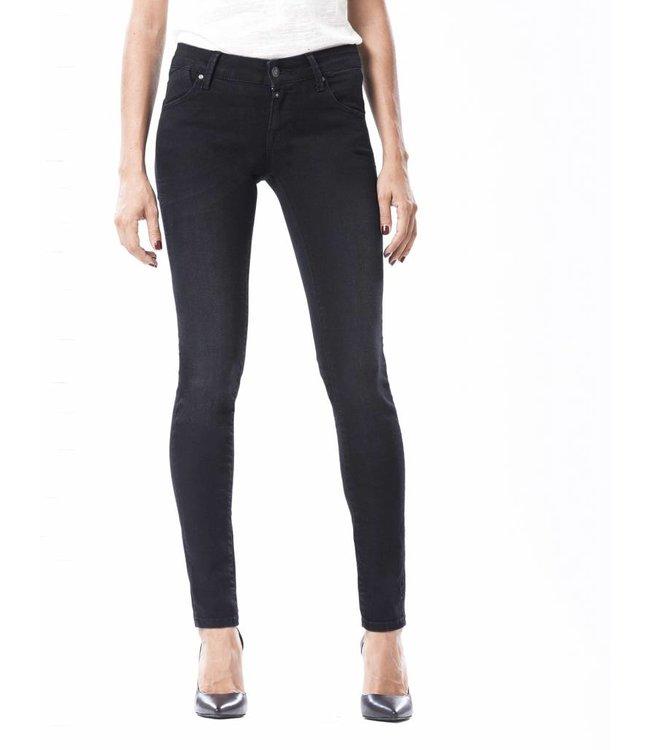 COJ Gina Black Vintage Push-up Jeans