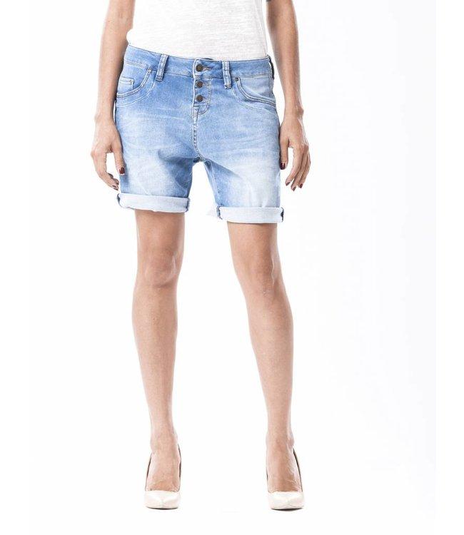 COJ Romy Waterfall Denim Shorts
